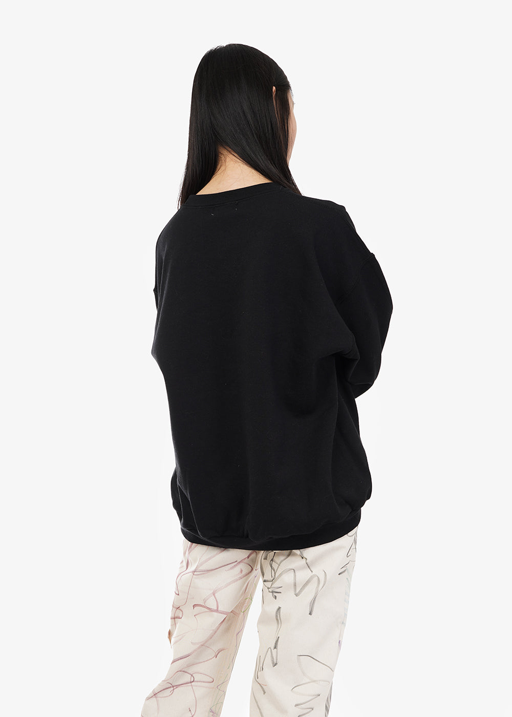 Collina Strada Vulnerability Round Hem Hoodie — Shop sustainable fashion and slow fashion at New Classics Studios