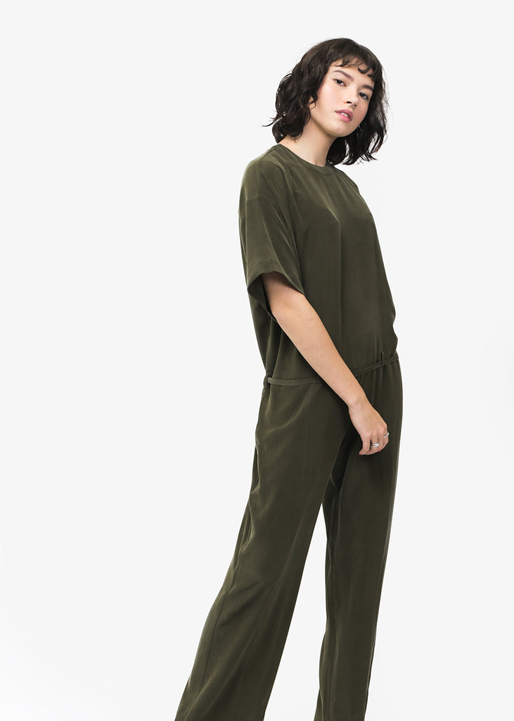 Combine De Filles Le Desinvolte Jumpsuit — Shop sustainable fashion and slow fashion at New Classics Studios