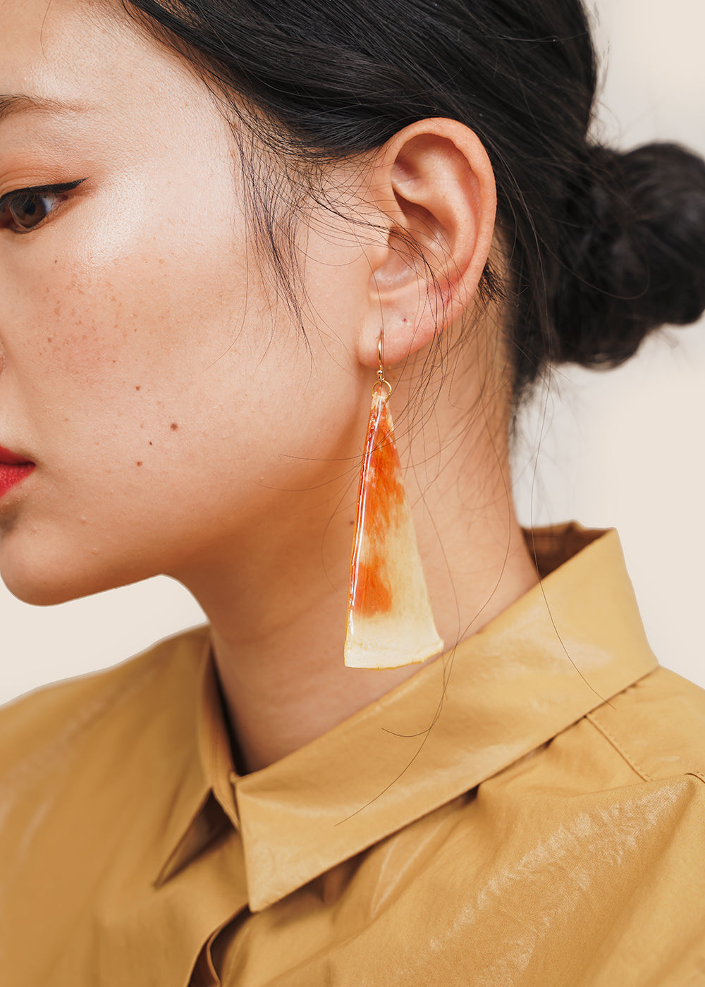 Watermelon Slice Earring