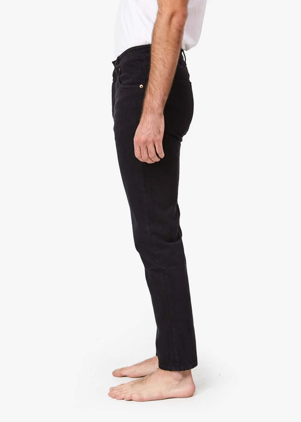 Decade Studio Black Alex Jeans — Shop sustainable fashion and slow fashion at New Classics Studios