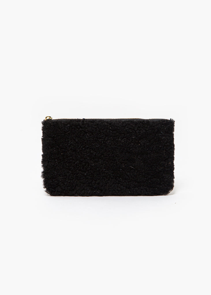 Erin Templeton Black Fuzzy Time For A Change Pouch — New Classics Studios