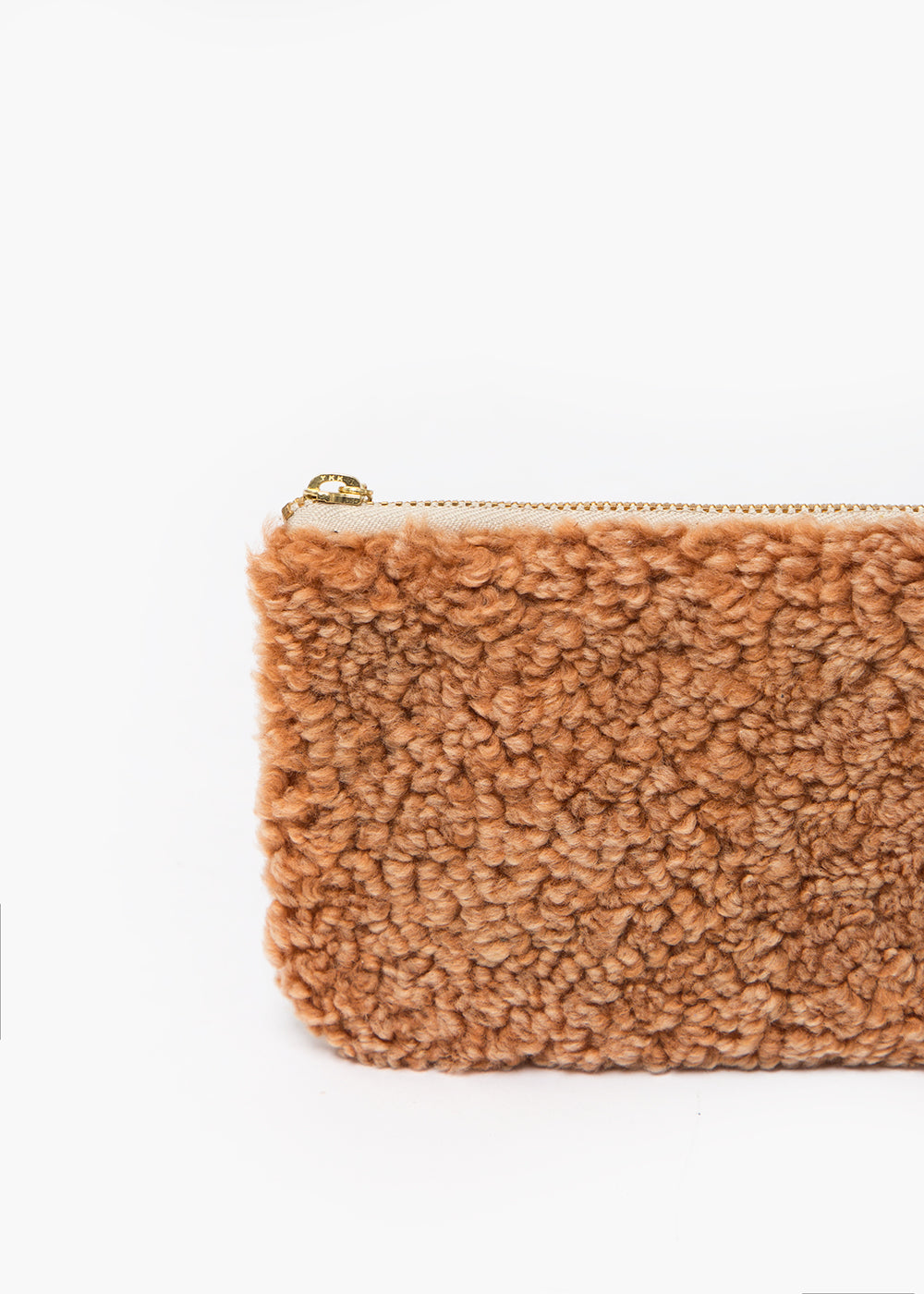 Erin Templeton Brown Fuzzy Time For A Change Pouch — New Classics Studios