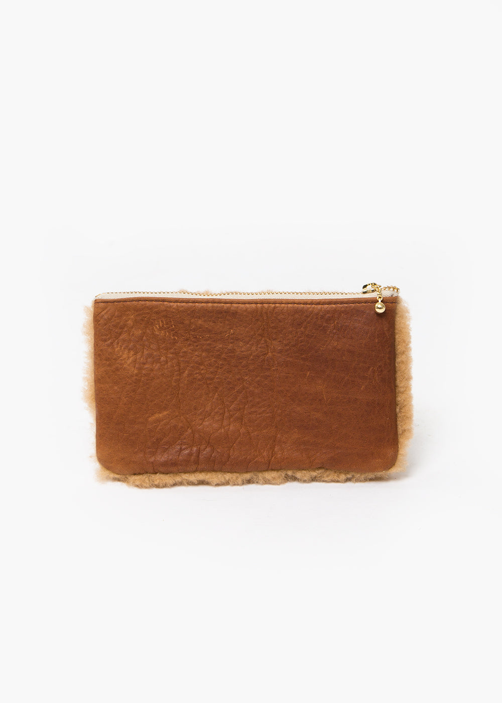Erin Templeton Camel Fuzzy Time For A Change Pouch — New Classics Studios