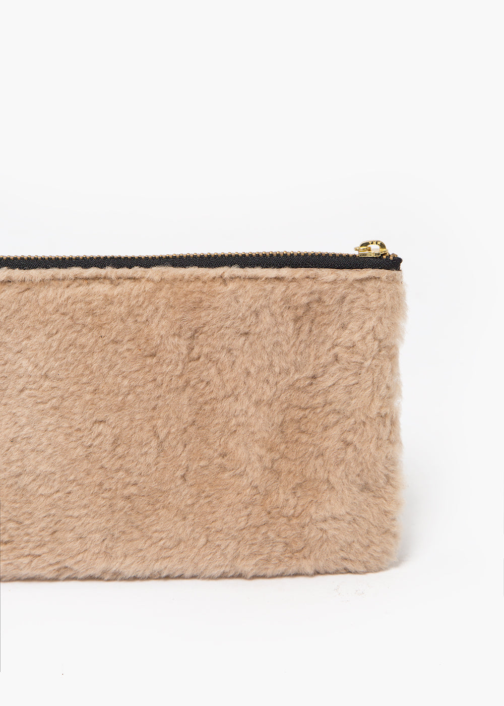 Erin Templeton Beige Fuzzy Time For A Change Pouch — New Classics Studios