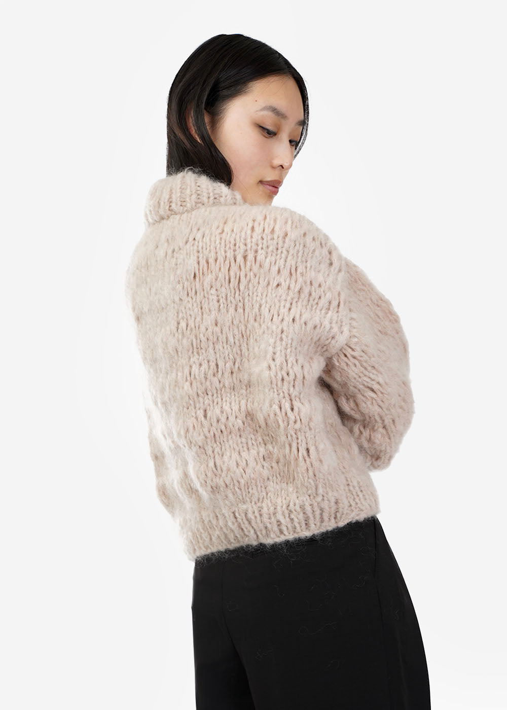 Frisson Knits Buff Isabella Sweater — Shop sustainable fashion and slow fashion at New Classics Studios