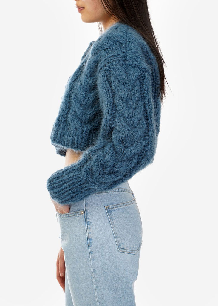 Denim Francesca Cardigan - New Classics Studios