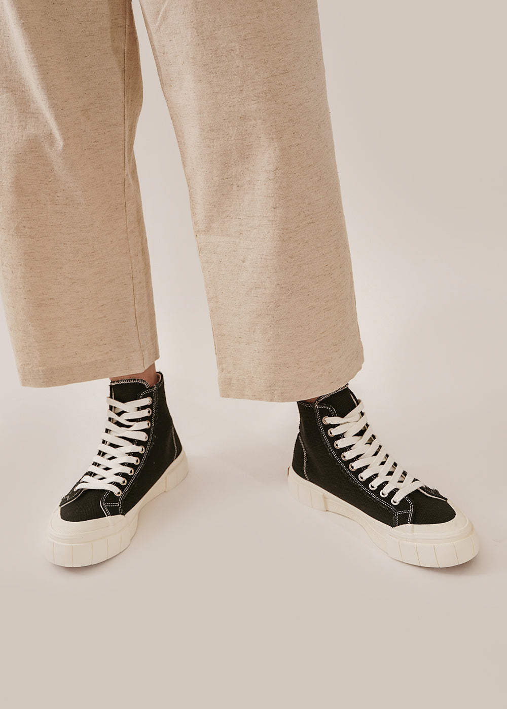 Black Palm Core Sneakers