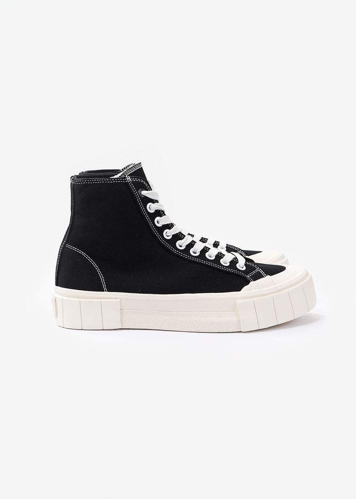 GOOD NEWS Black Bagger 2 Hi Sneakers — Shop sustainable fashion and slow fashion at New Classics Studios