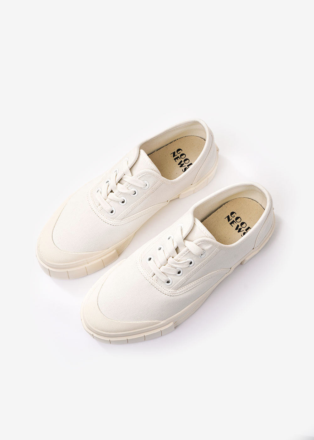 GOOD NEWS Off White Bagger 2 Low Sneakers — Shop sustainable fashion and slow fashion at New Classics Studios