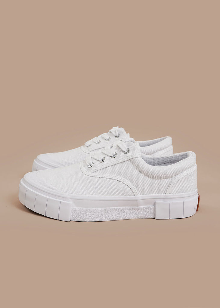 White Opal Core Sneakers