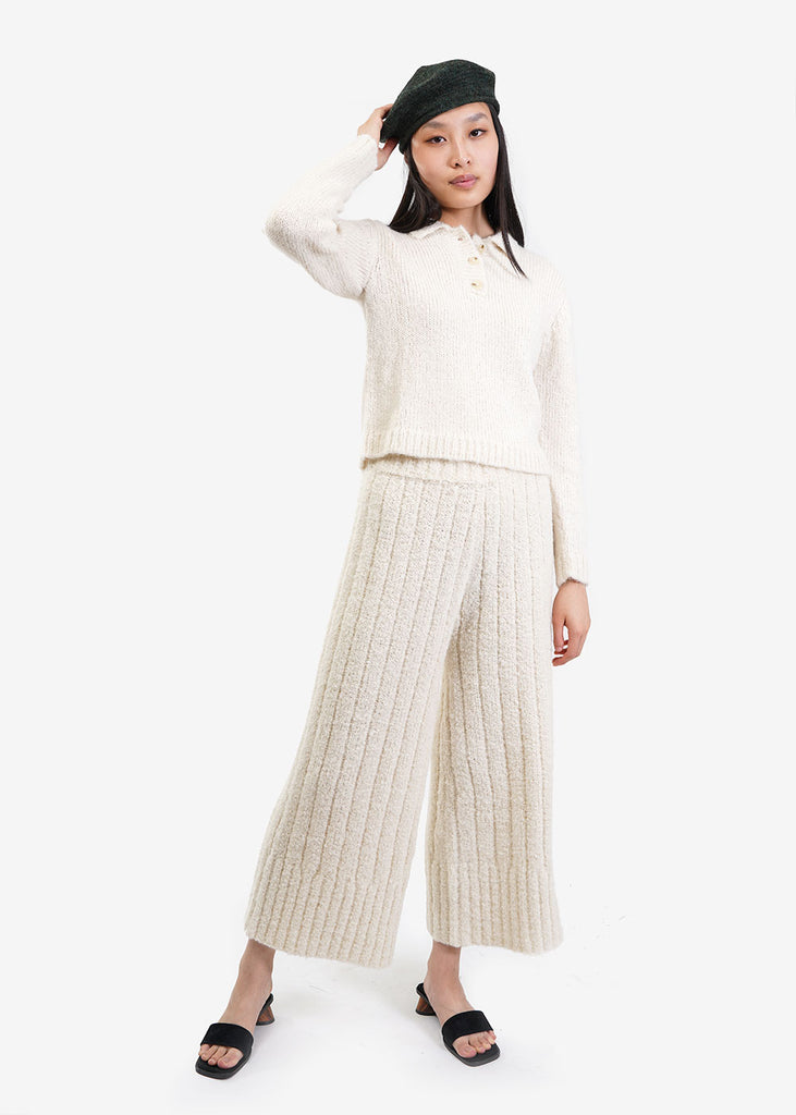 Kordal Studio Rowan Knit Trouser — Shop sustainable fashion and slow fashion at New Classics Studios
