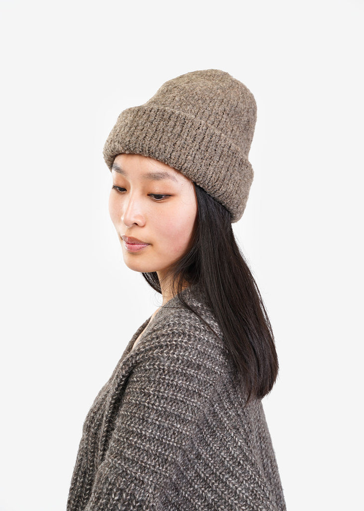 Kordal Studio French Grey Polar Beanie — Shop sustainable fashion and slow fashion at New Classics Studios