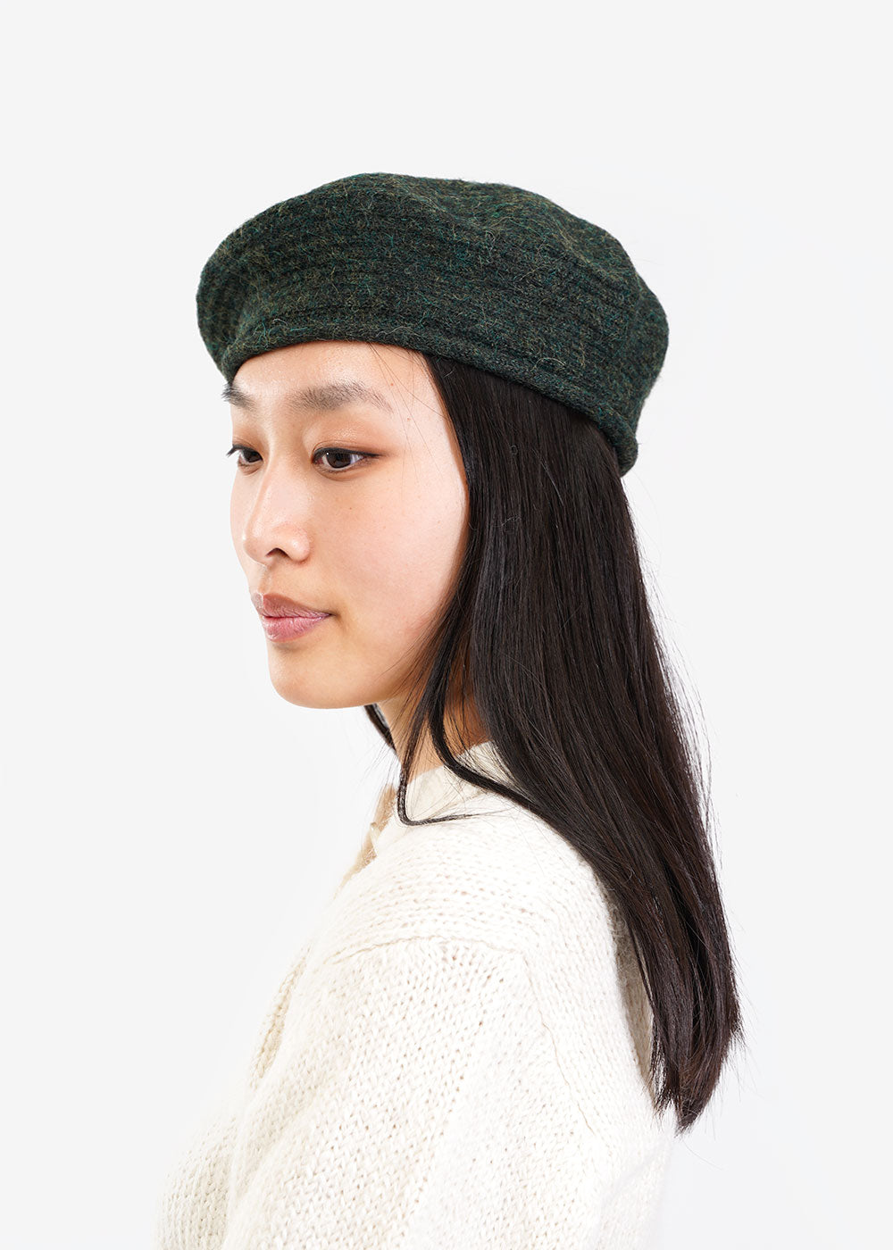 Kordal Studio Moss Beret — Shop sustainable fashion and slow fashion at New Classics Studios