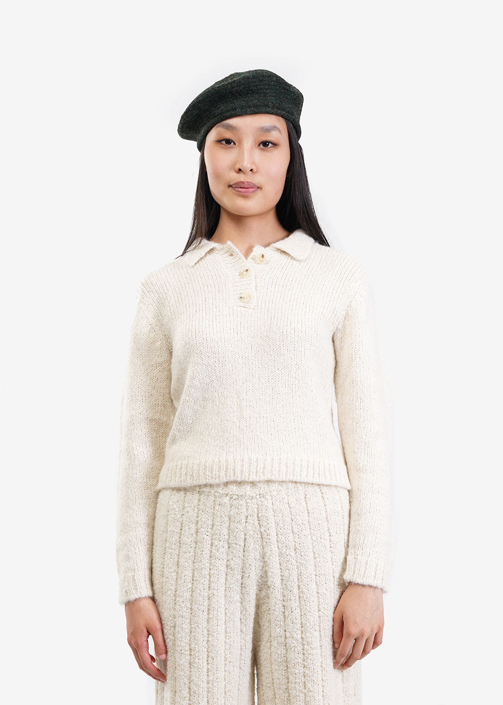 Kordal Studio Remy Collared Sweater — Shop sustainable fashion and slow fashion at New Classics Studios