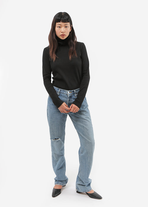 Kowtow Building Block Rib High Neck Top — New Classics Studios