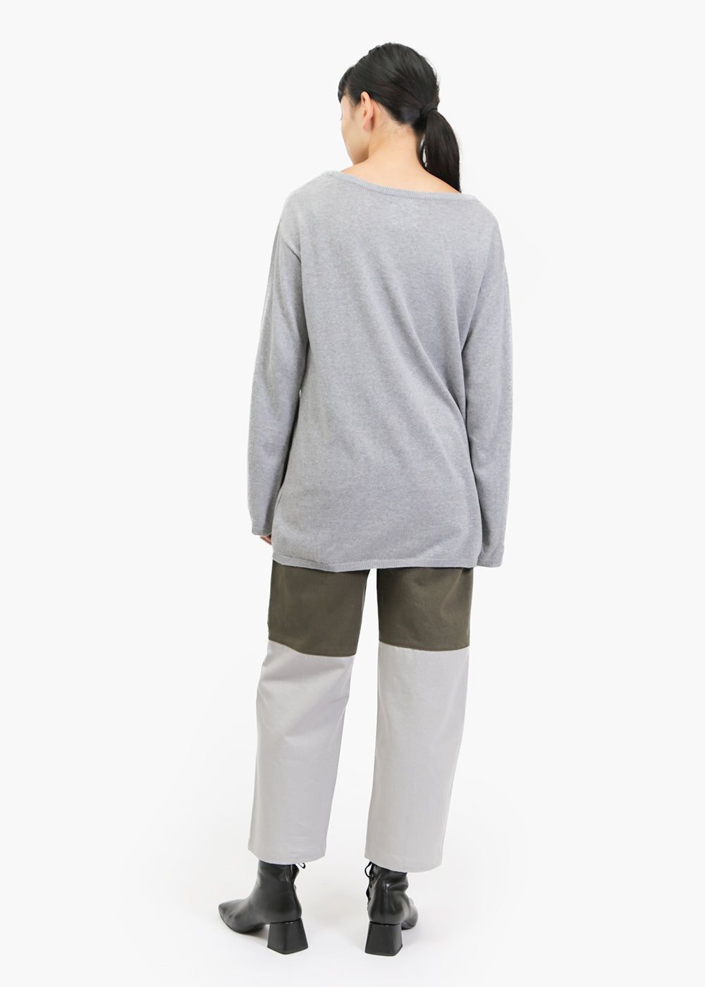 Kowtow Light Lakeside Sweater — Shop sustainable fashion and slow fashion at New Classics Studios