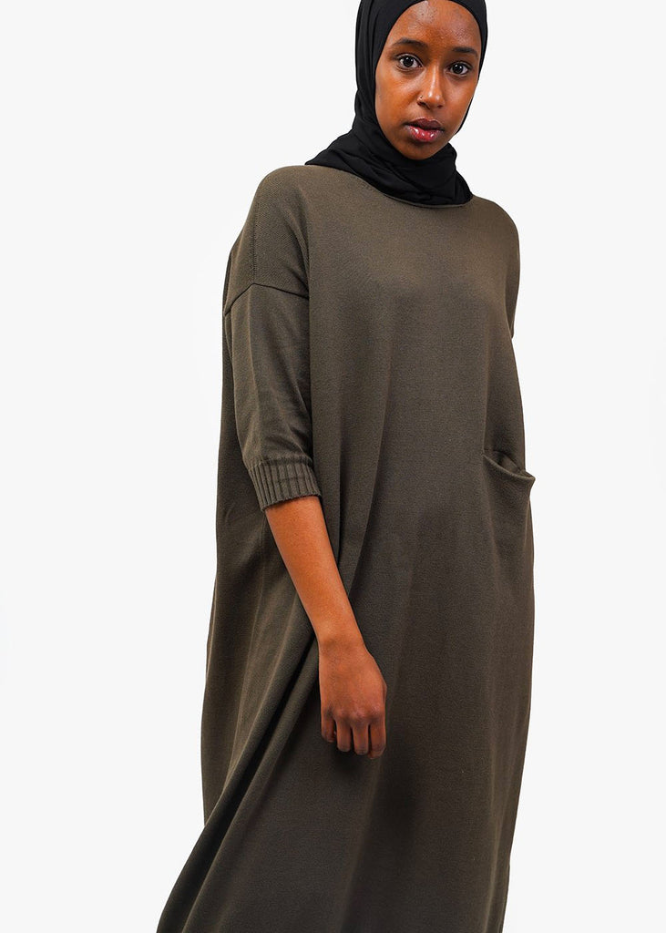 Lauren Manoogian Big Crewneck Dress — Shop sustainable fashion and slow fashion at New Classics Studios