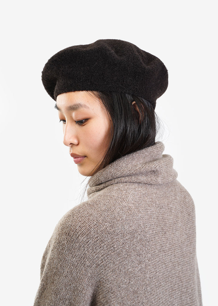 Lauren Manoogian Monk Horizontal Beret — Shop sustainable fashion and slow fashion at New Classics Studios