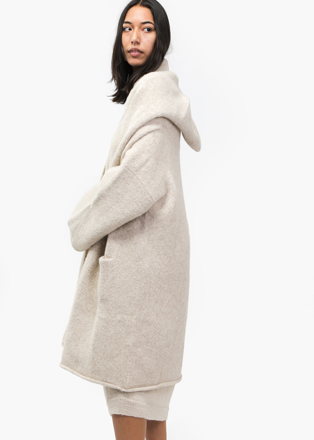 Lauren Manoogian Hessian Capote Coat — New Classics Studios