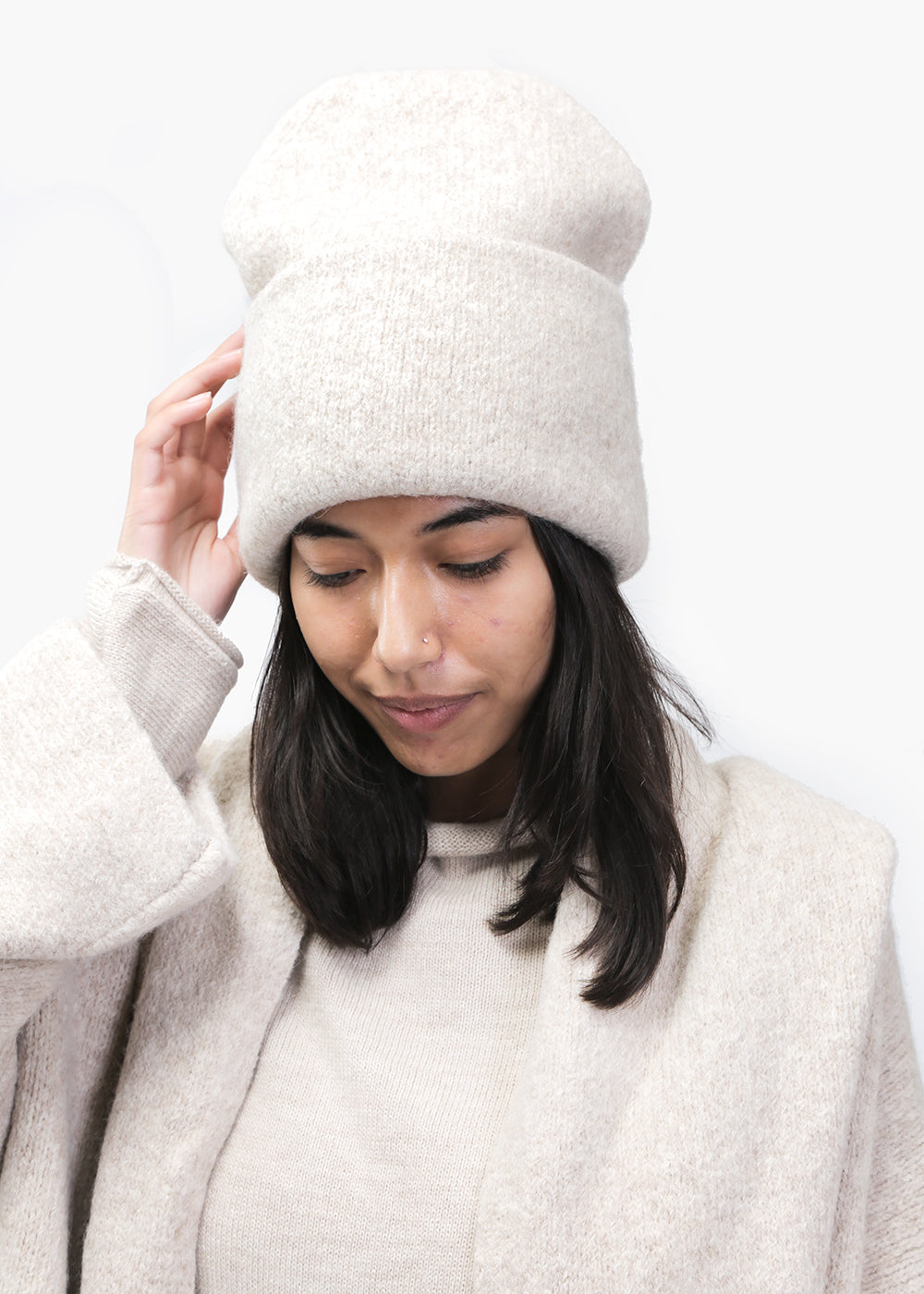 Lauren Manoogian Hessian Carpenter Hat — New Classics Studios