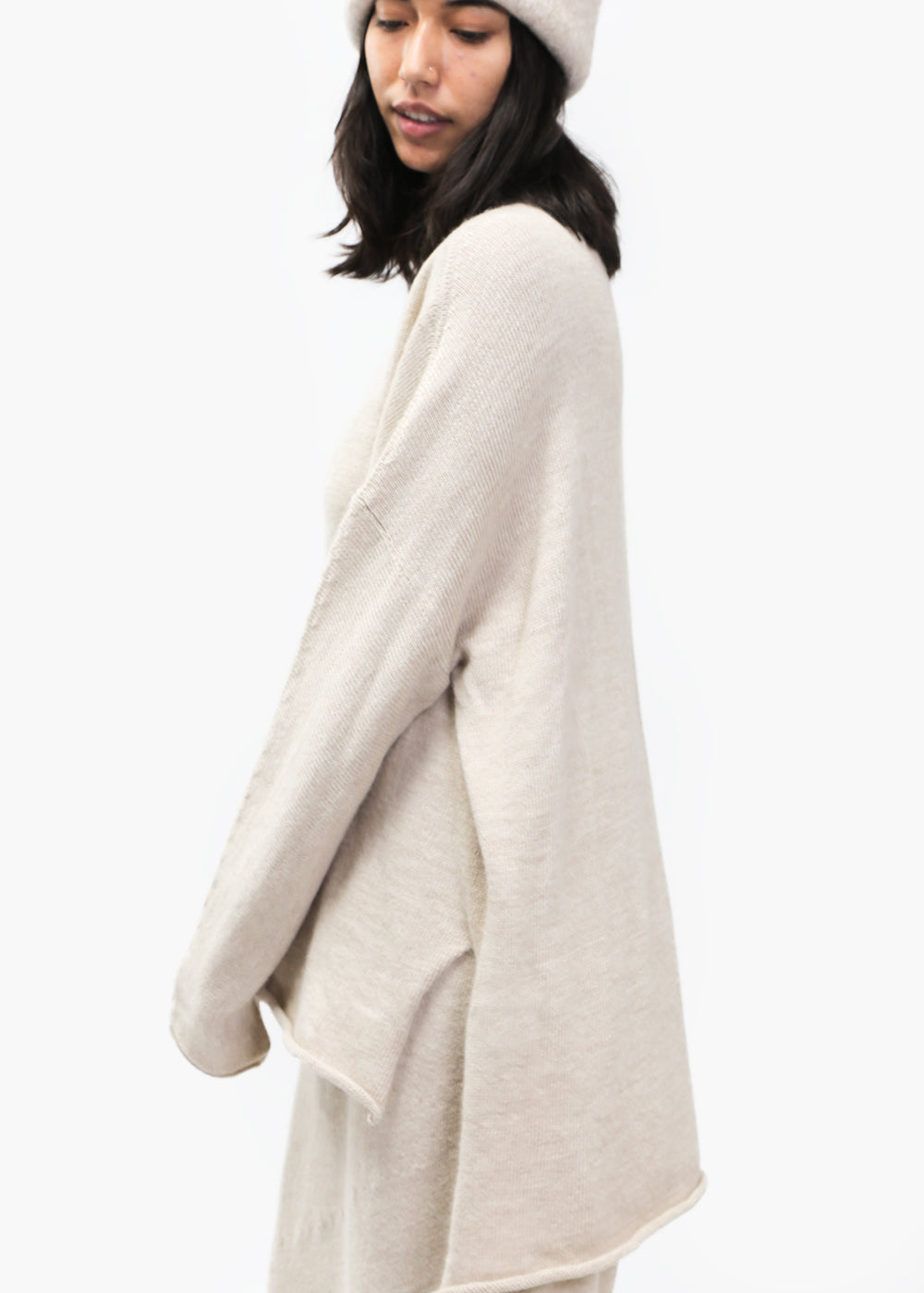 Lauren Manoogian Hessian Oversized Rollneck — New Classics Studios