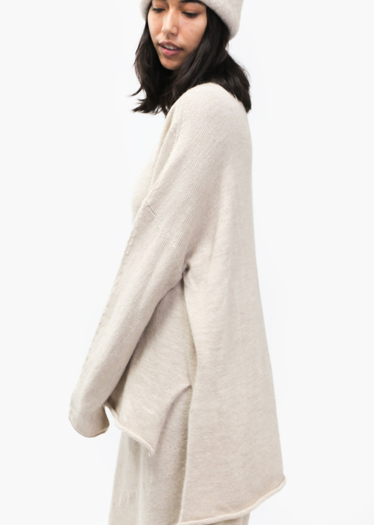 Lauren Manoogian Hessian Oversized Rollneck — Shop sustainable fashion and slow fashion at New Classics Studios