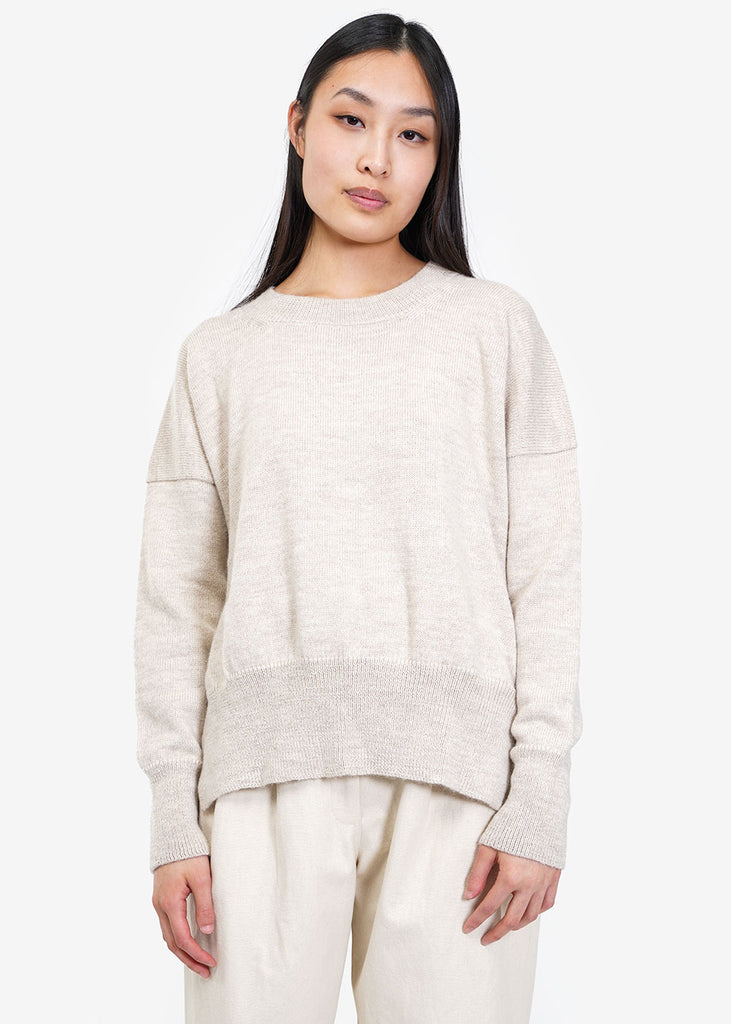 Lauren Manoogian Hessian Simple Crewneck — Shop sustainable fashion and slow fashion at New Classics Studios