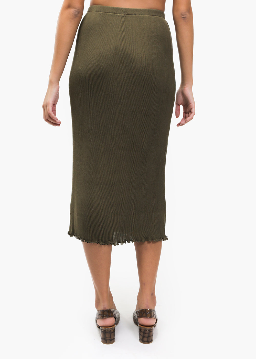 Olive Accordion Skirt - New Classics Studios