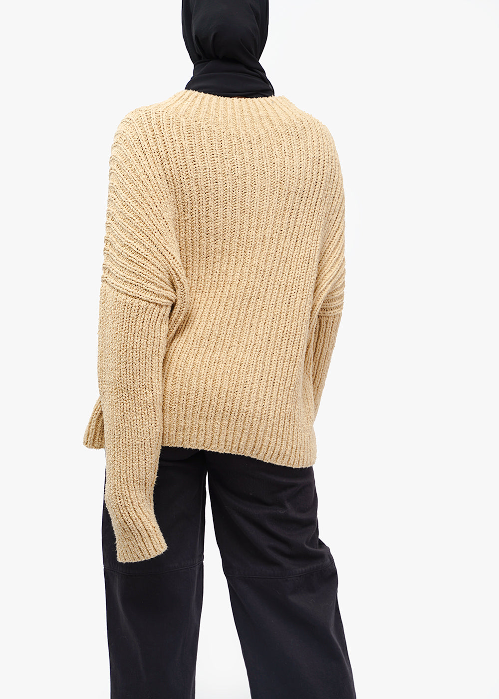 Lauren Manoogian Straw Rib Boucle Pullover — New Classics Studios