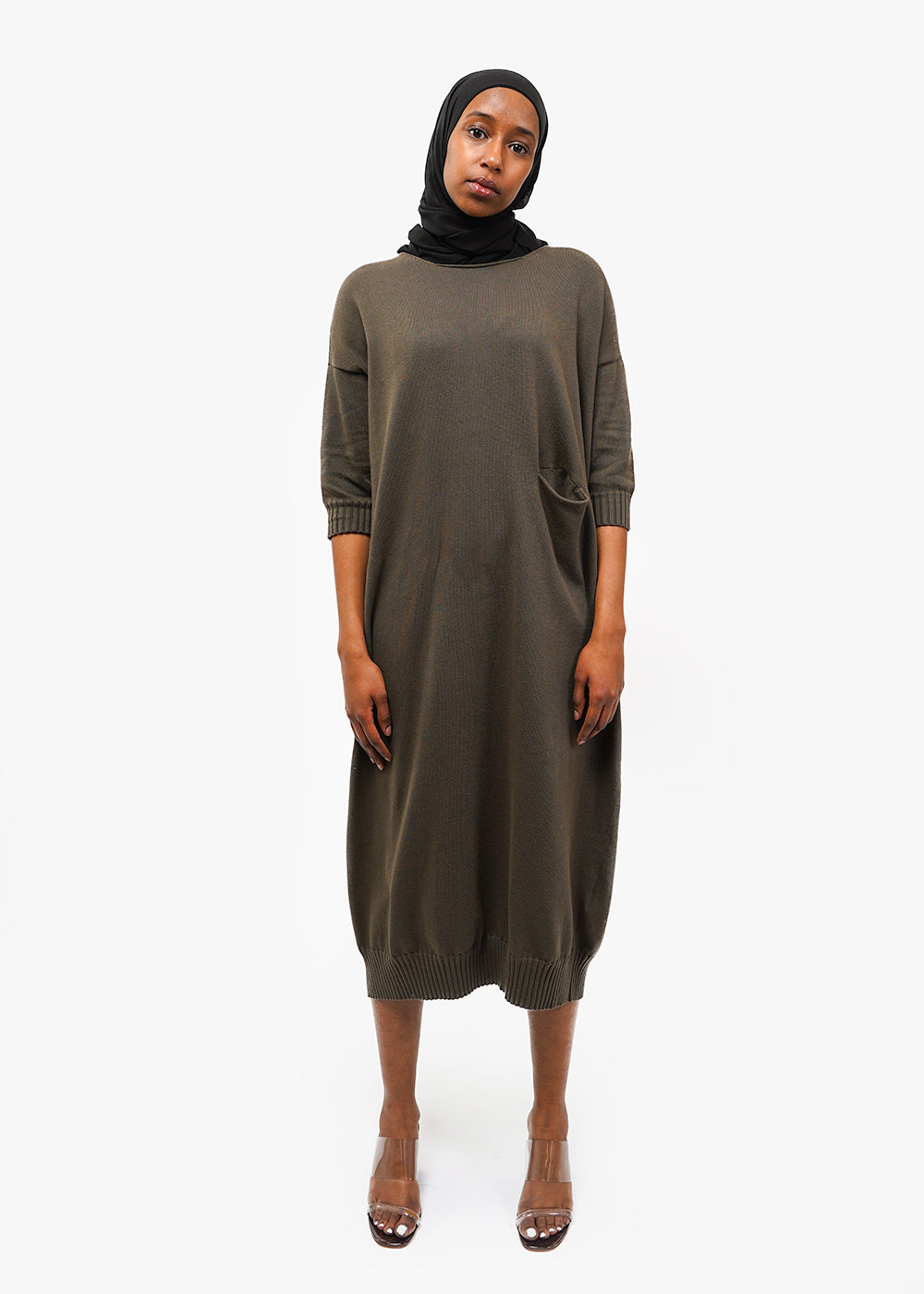 Lauren Manoogian Big Crewneck Dress — New Classics Studios