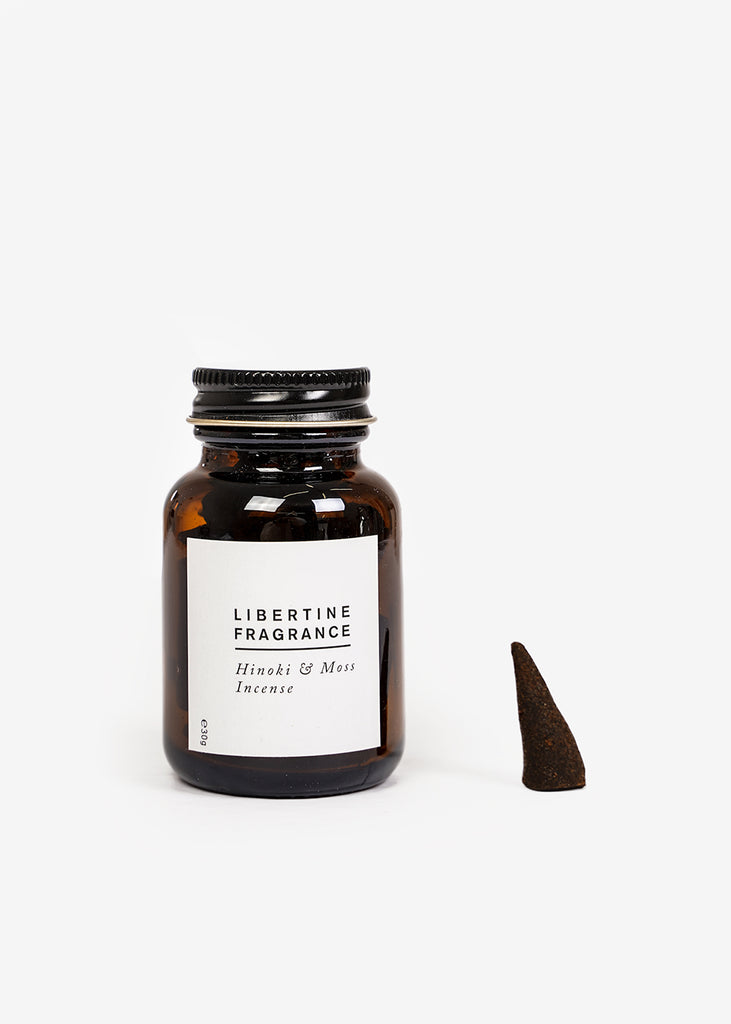 Libertine Fragrance Hinoki & Moss Incense — Shop sustainable fashion and slow fashion at New Classics Studios