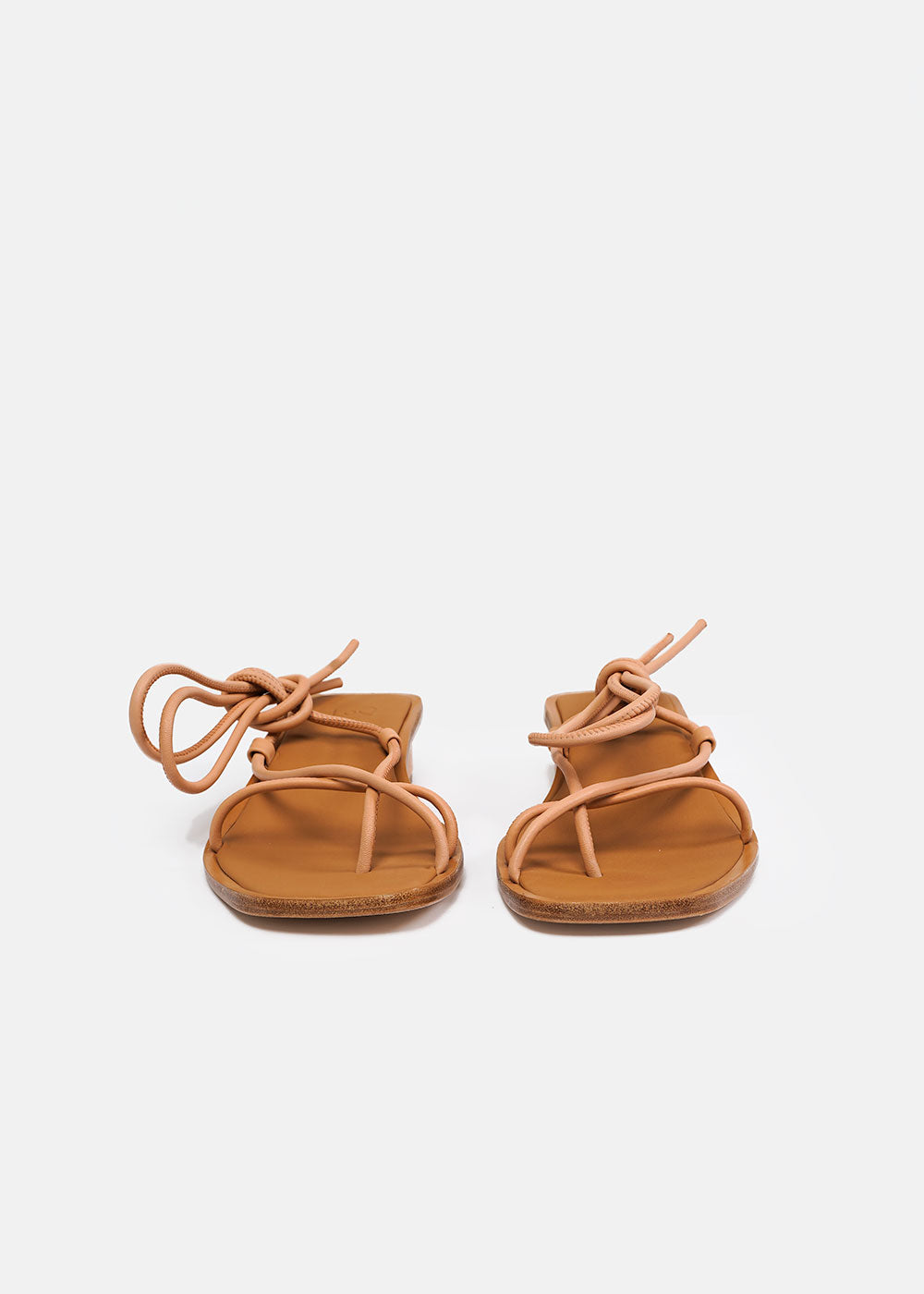 LoQ Nude Ara Sandals — Shop sustainable fashion and slow fashion at New Classics Studios