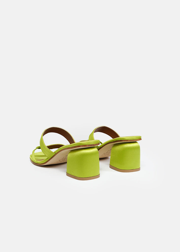 LoQ Pomelo Palma Mules — Shop sustainable fashion and slow fashion at New Classics Studios