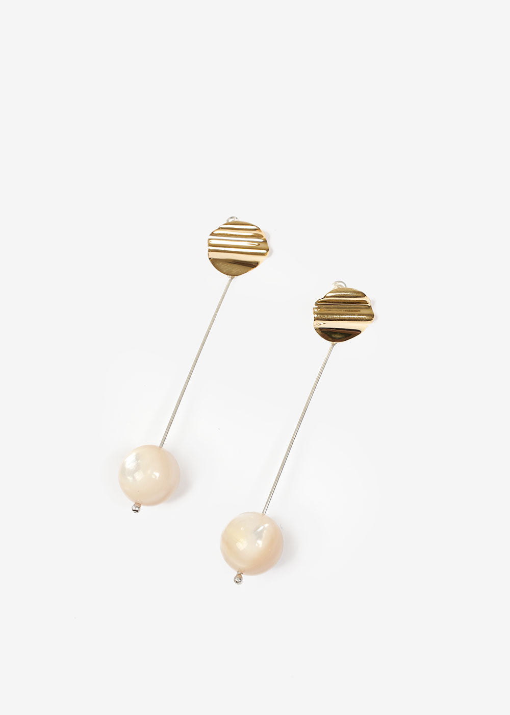 Luna Perla Drop Earrings