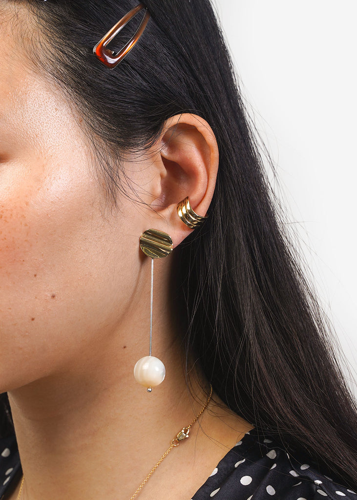 LUINY Luna Perla Drop Earrings — Shop sustainable fashion and slow fashion at New Classics Studios