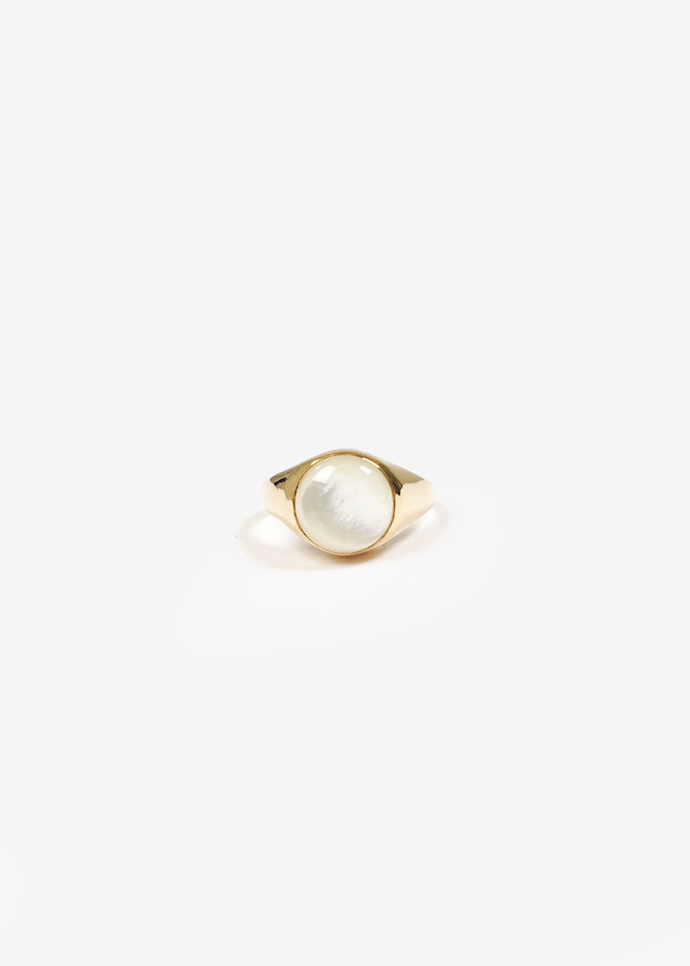 LUINY Luna Perla Ring No. 2 — Shop sustainable fashion and slow fashion at New Classics Studios