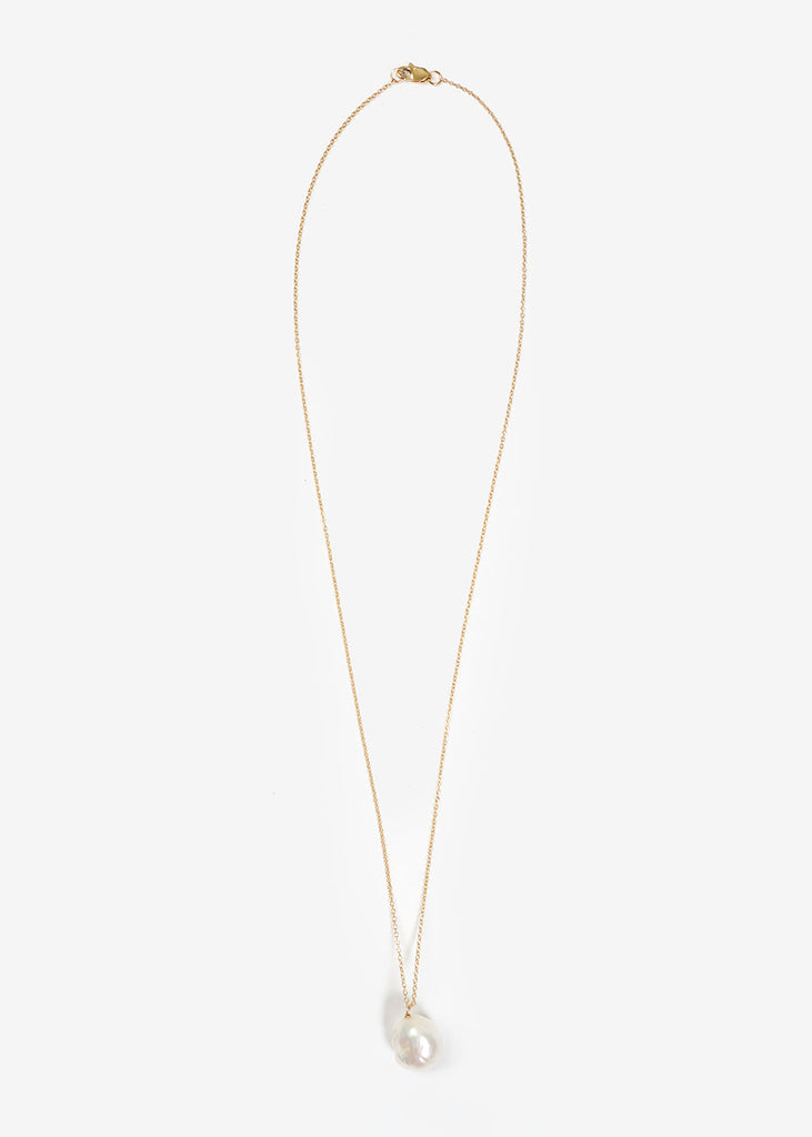 Perla On A Chain Necklace