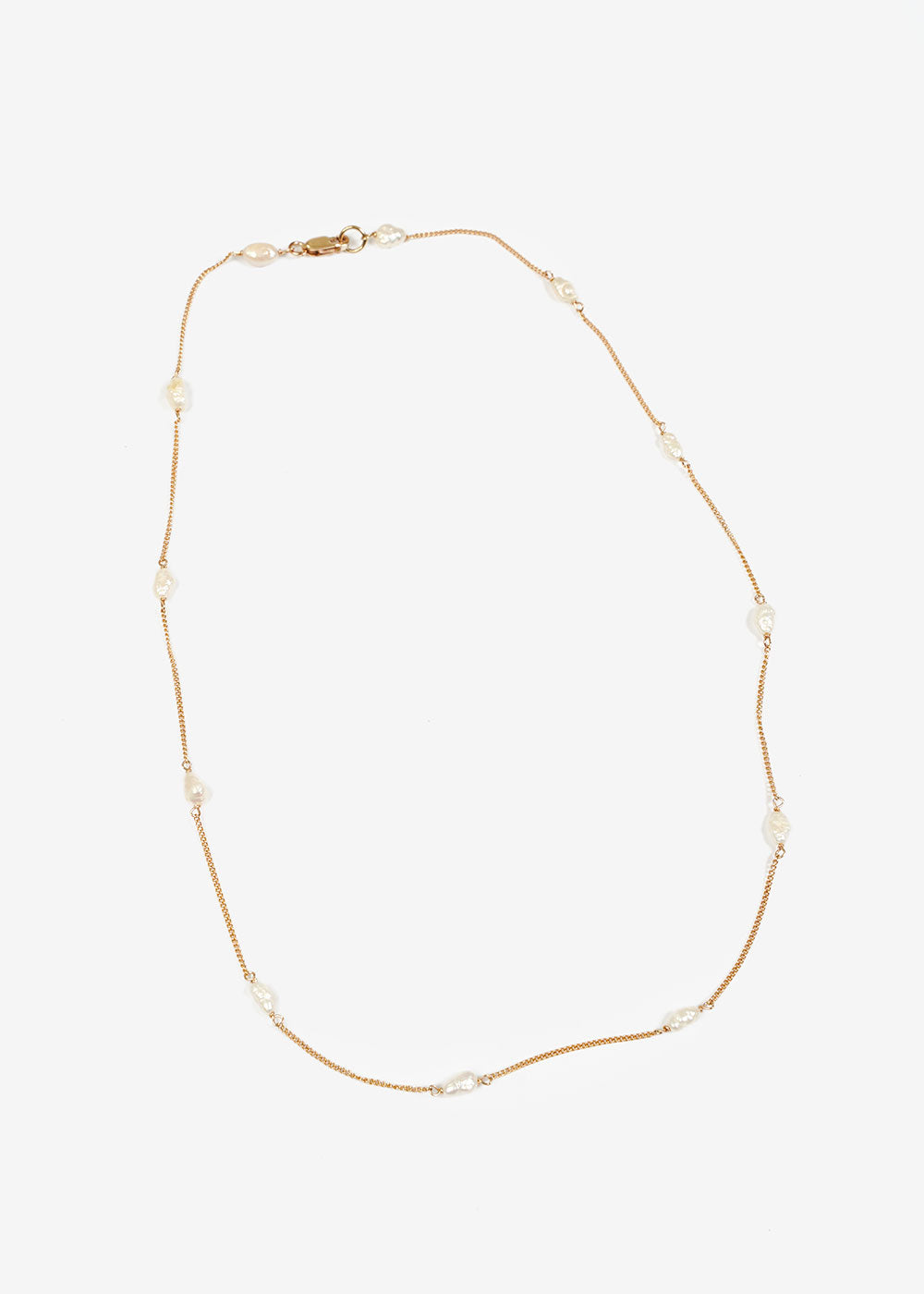 LUINY Perlitas Chain Necklace — New Classics Studios