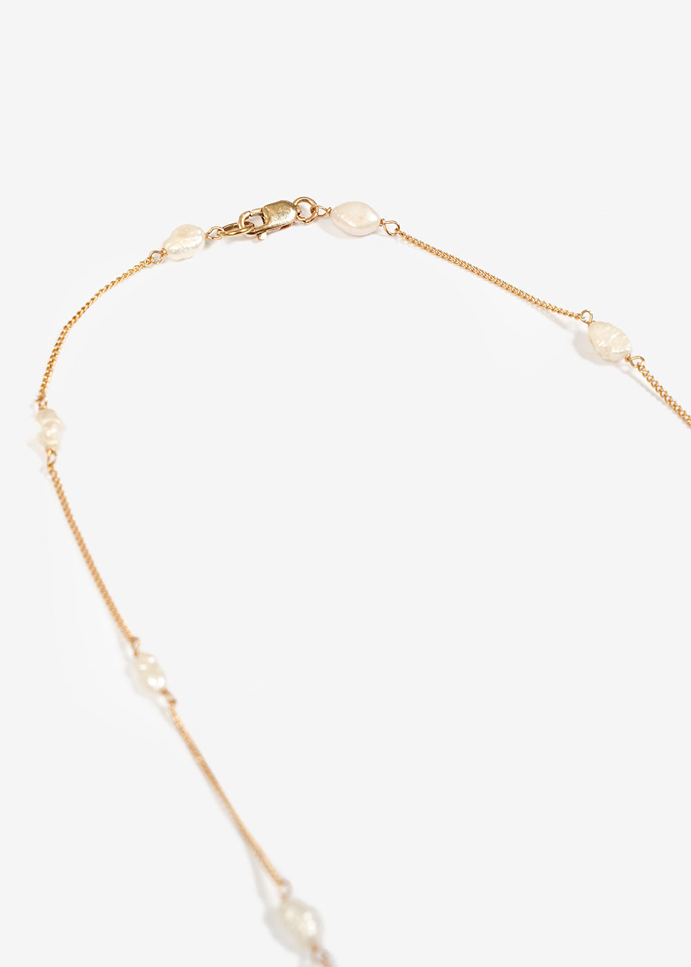 LUINY Perlitas Chain Necklace — Shop sustainable fashion and slow fashion at New Classics Studios