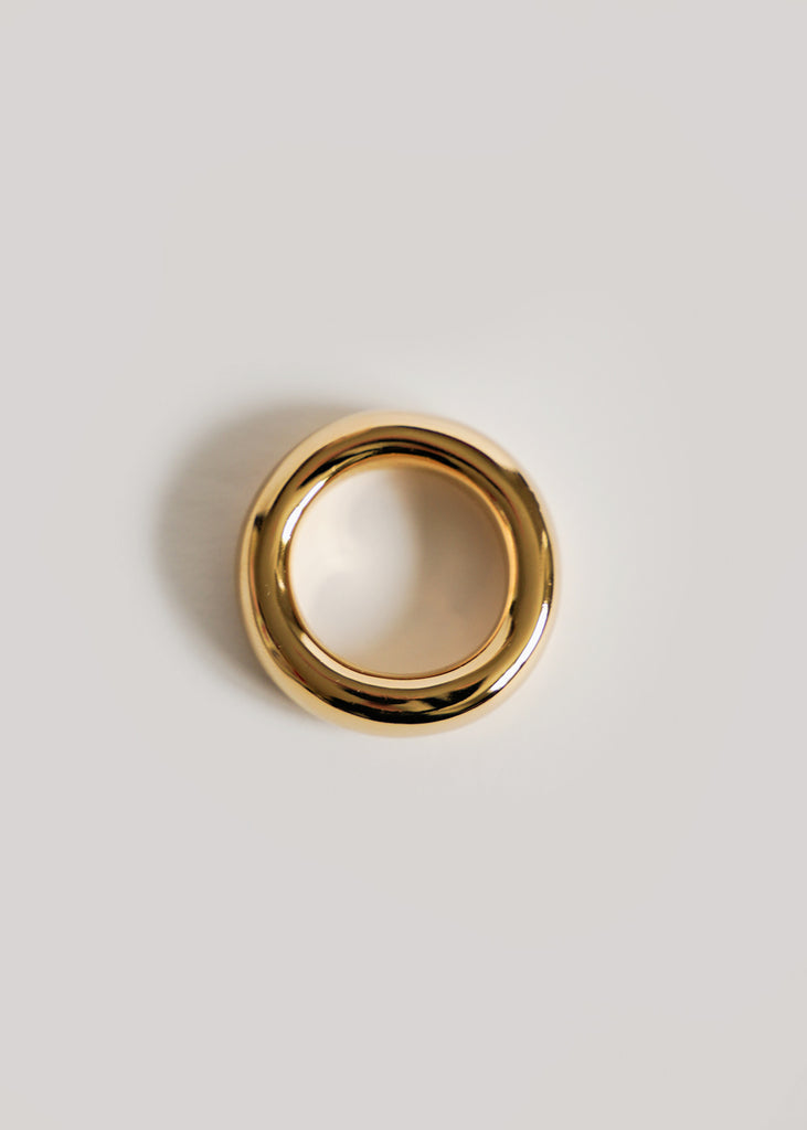 Gold Circulo Ring No. 1