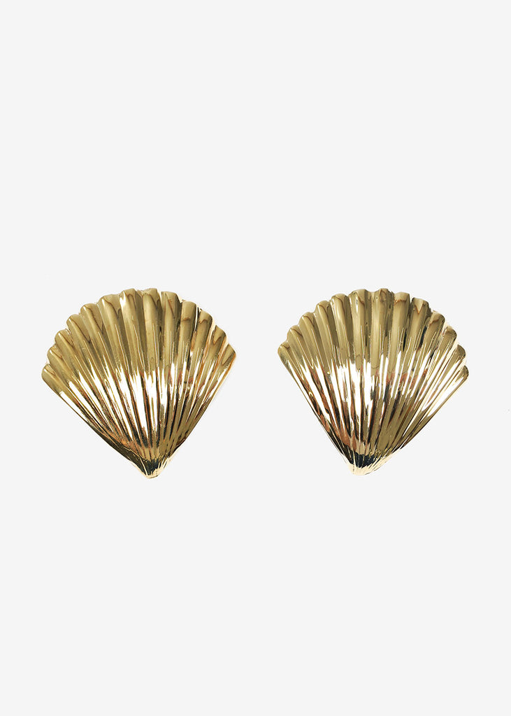 LUINY Concha Earrings — Shop sustainable fashion and slow fashion at New Classics Studios