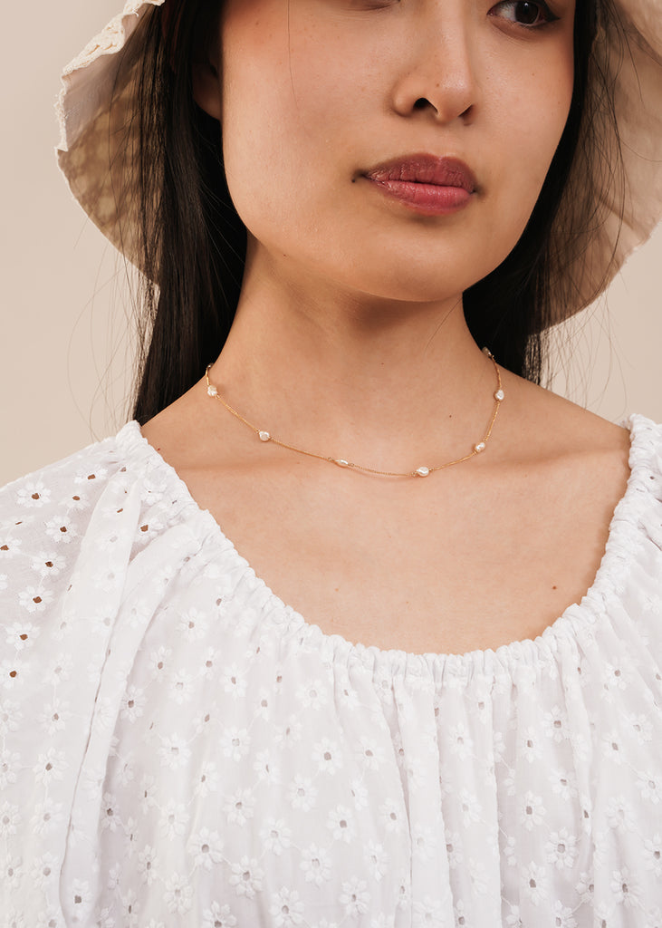 Perlitas Chain Necklace