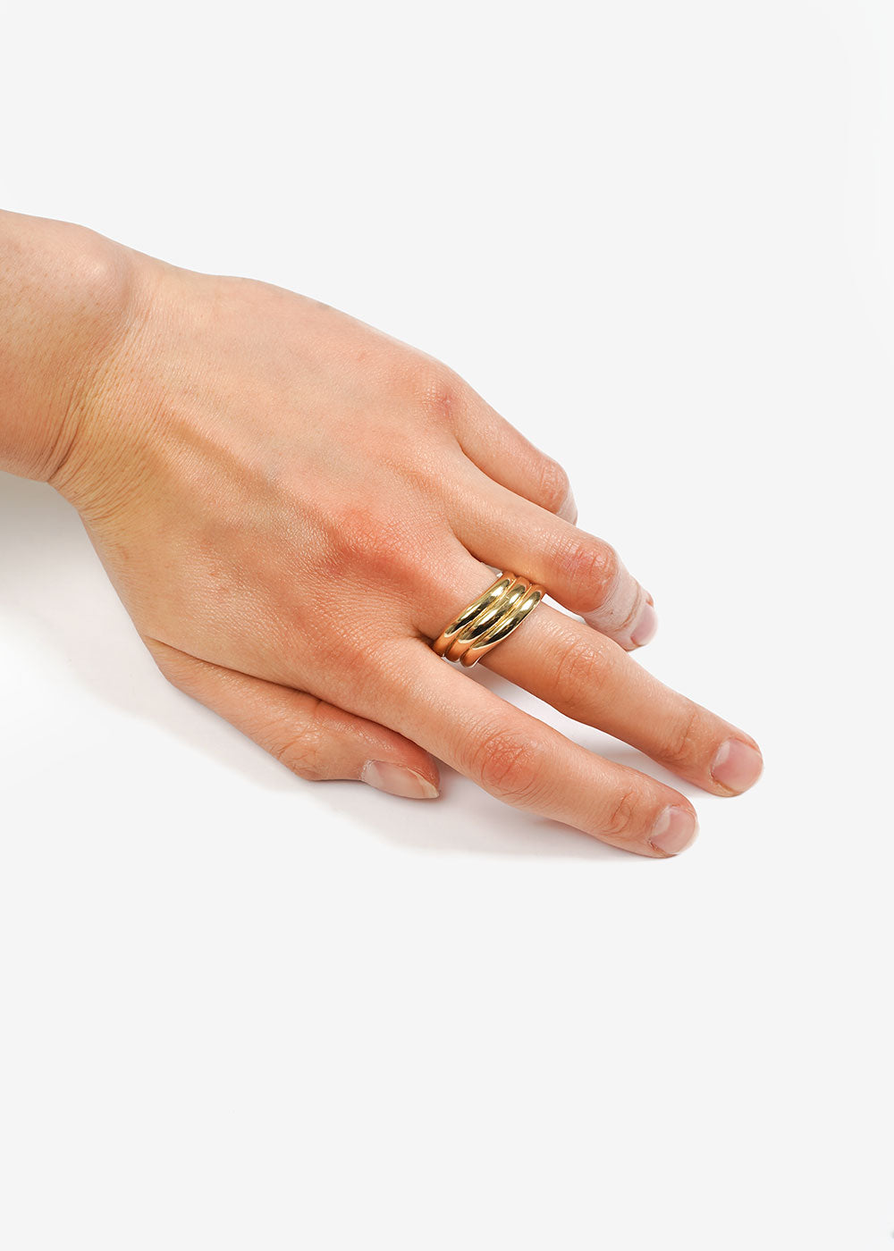 LUINY Waves Ring No. 2 — Shop sustainable fashion and slow fashion at New Classics Studios