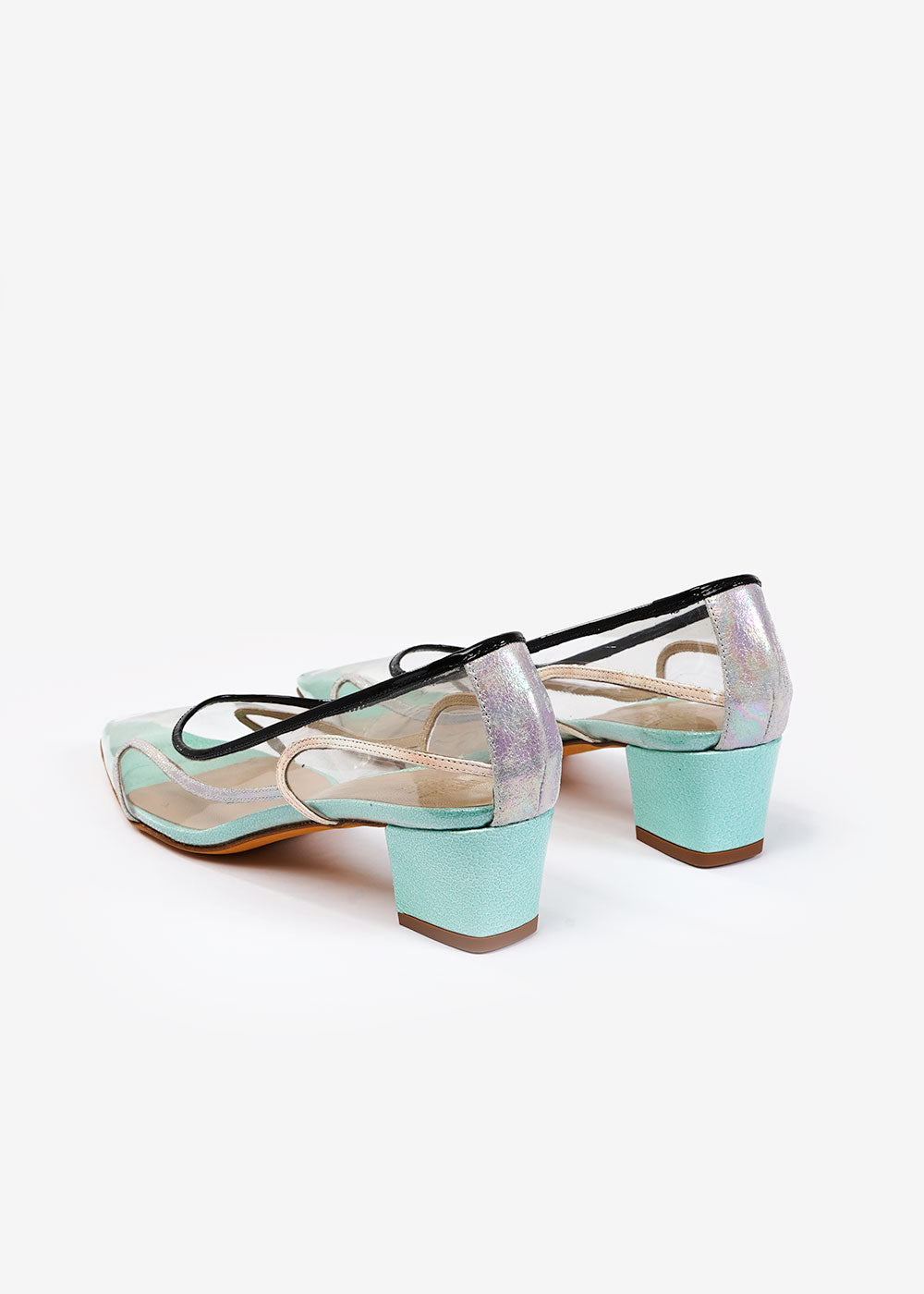 Maryam Nassir Zadeh Aqua Bead Naima Pump — Shop sustainable fashion and slow fashion at New Classics Studios