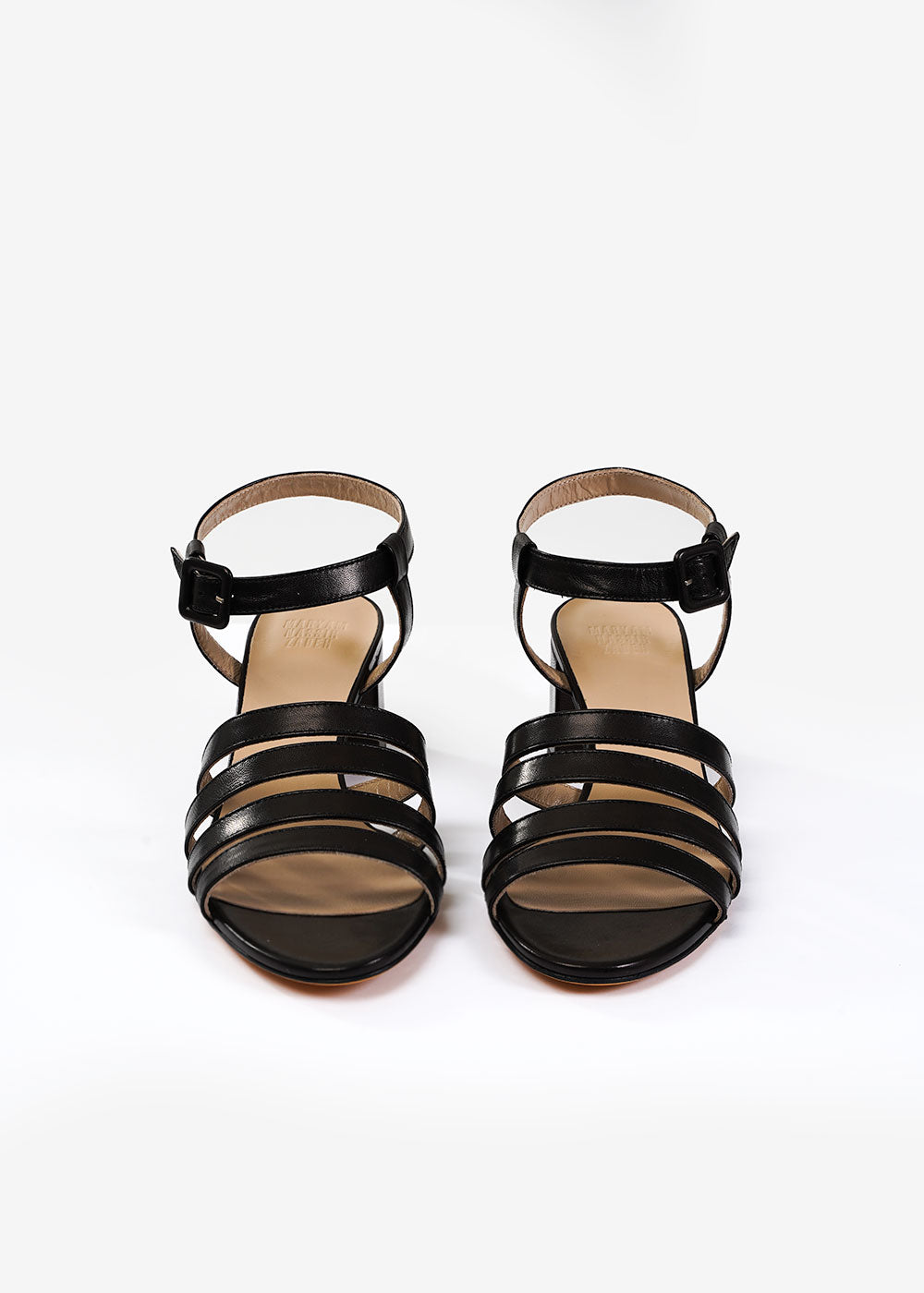 Maryam Nassir Zadeh Black Palma Low Sandal — Shop sustainable fashion and slow fashion at New Classics Studios