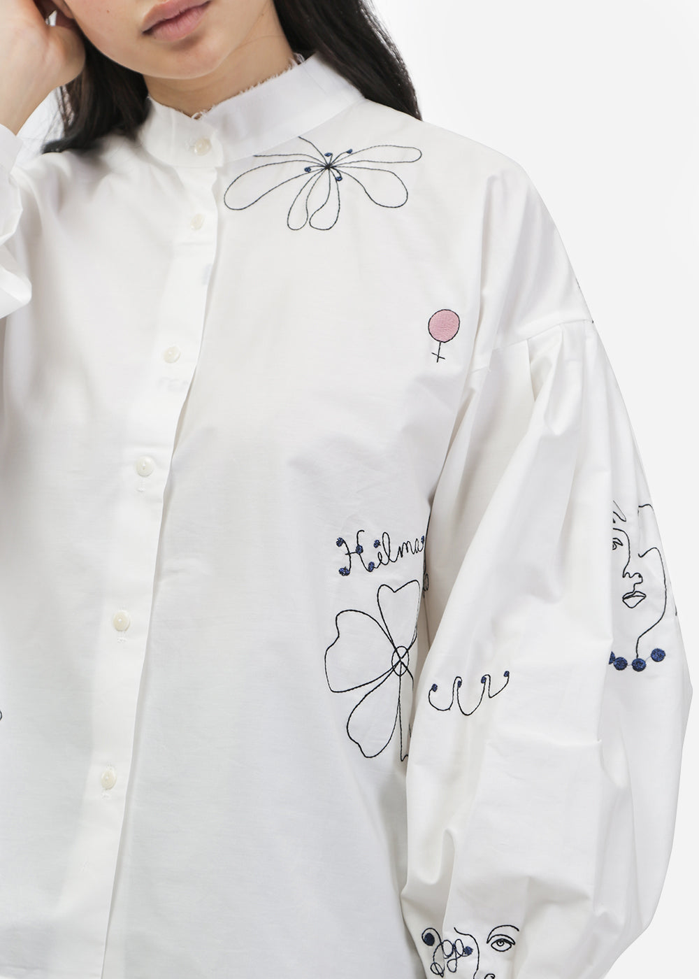 Mr. Larkin Poppy Cut Shirt — Shop sustainable fashion and slow fashion at New Classics Studios