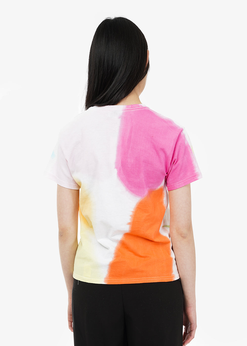 Collina Strada Memphis Tie Dye Abolish Ice Tee — Shop sustainable fashion and slow fashion at New Classics Studios