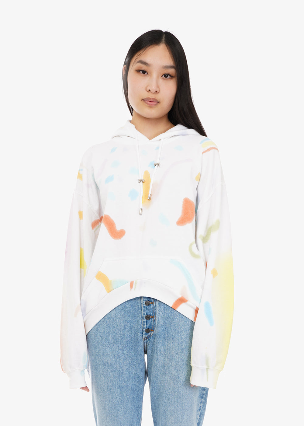 Collina Strada Memphis Tie Dye Round Hem Hoodie — Shop sustainable fashion and slow fashion at New Classics Studios