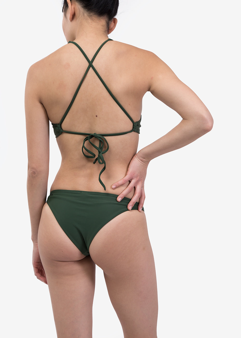 OCIN Olivine Halter Swim Top — Shop sustainable fashion and slow fashion at New Classics Studios