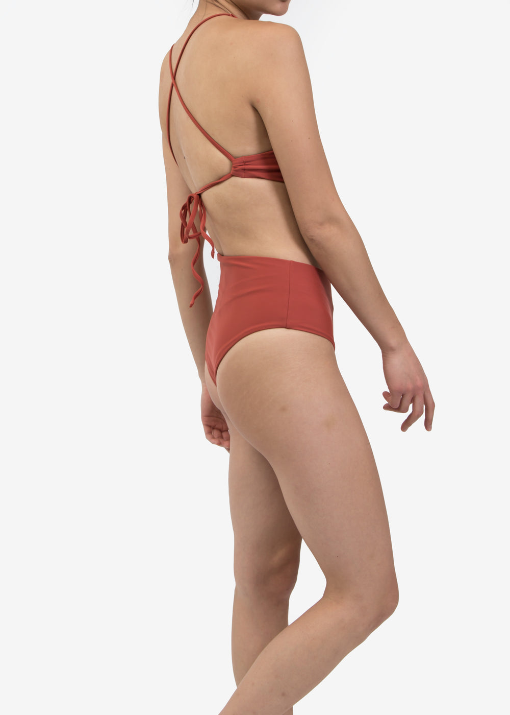 Sunset Hi Waisted Swim Bottom